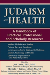 Judaism and Health book cover